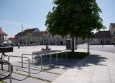 Rathausplatz Herzogenburg | NÖ | Grüninsel - Kommunikationsbereich