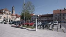 Rathausplatz Herzogenburg | NÖ | Grüninsel - Sitzbank