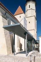 Minoritenkirche Krems-Stein - Klangraum Krems | Foyer - Zugang