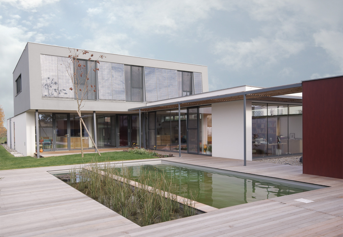Haus PA | Tulln a.d. Donau | NÖ | 2006-2009 | habitat|architektur